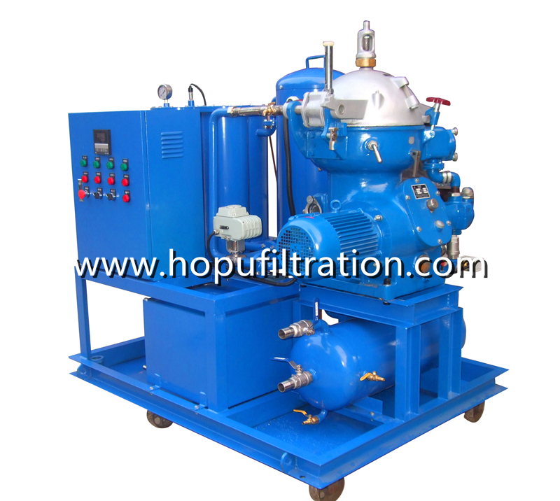 Centrifugal Oil Purifier Separator Diesel fuel Oil Centrifuge Plant