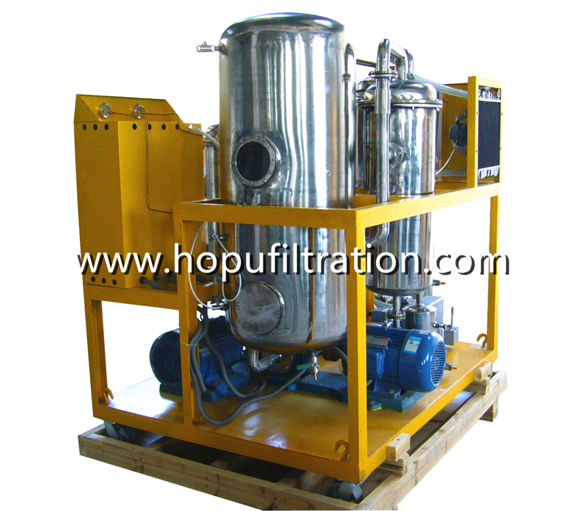 Stainless Steel Cooking Oil Purifier, UCO Vegetable Oil Treatment Unit