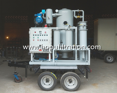 mobile trailer transformer oil purifier manufacture