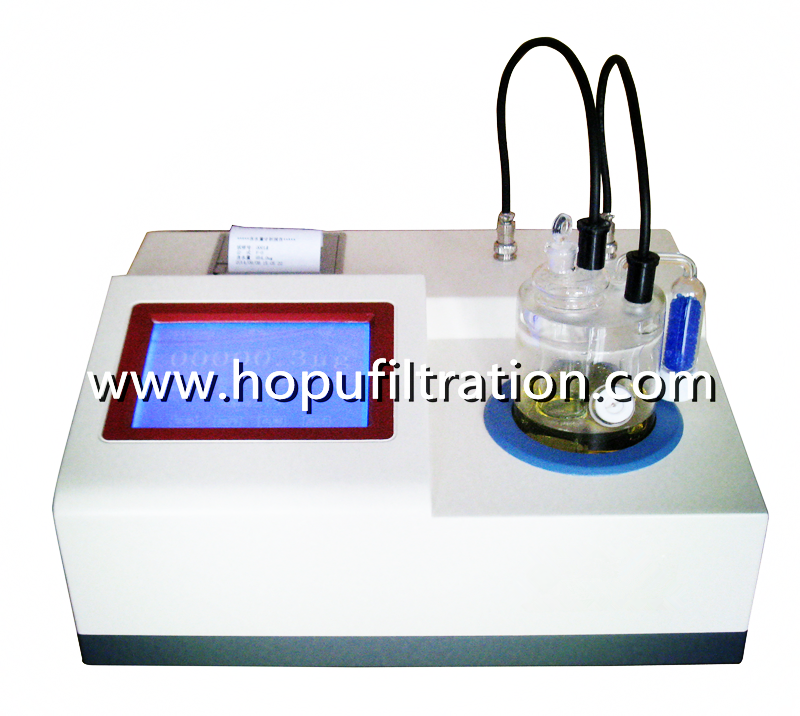 Oil Trace moisture titrator Tester/ Analyzer for Series HST