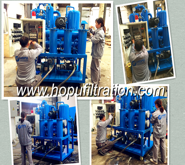 Used Transformer Insulation Oil Regeneration