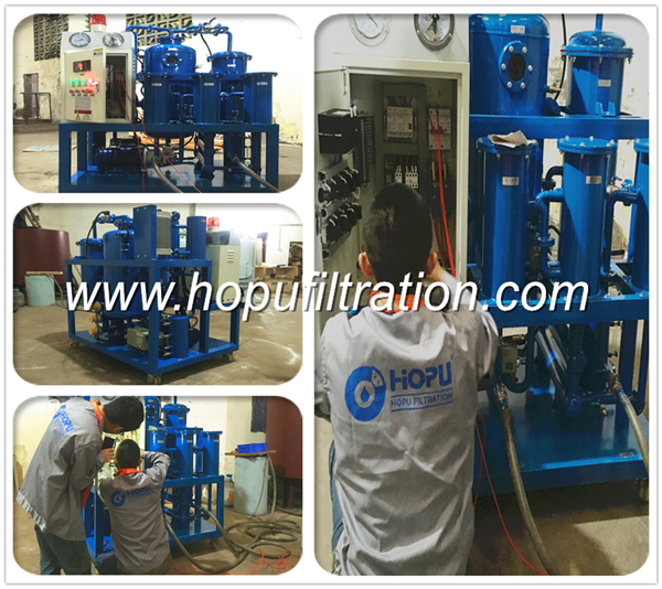 Dehydration Purification for hydraulic oil ,turbine oil,lubricant fluids