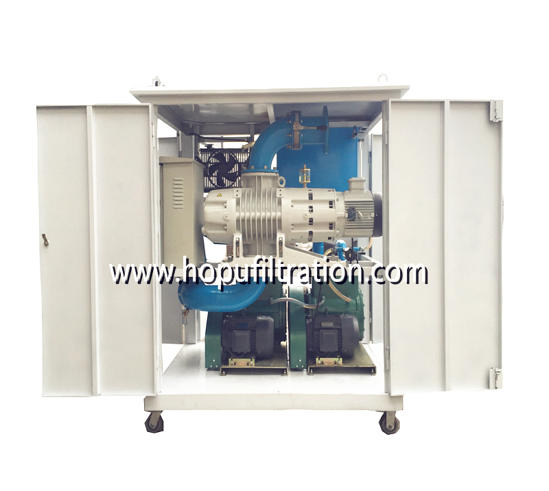 Ultra High Voltage Vacuum Transformer Oil Filtration Machine (1000KV, ±800KV, 750KV, ±660KV project) ( two stage vacuum chamber) for Series ZYD-U