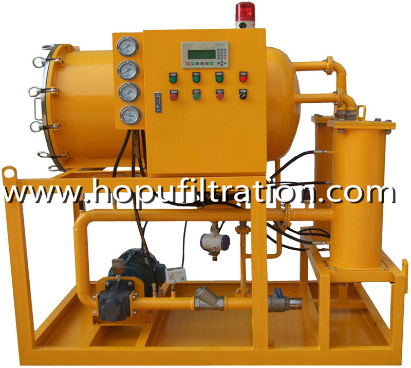 Explosion Proof Diesel Oil Filtration Plant, Gasoline Dehydration Machine Coalescence Separation