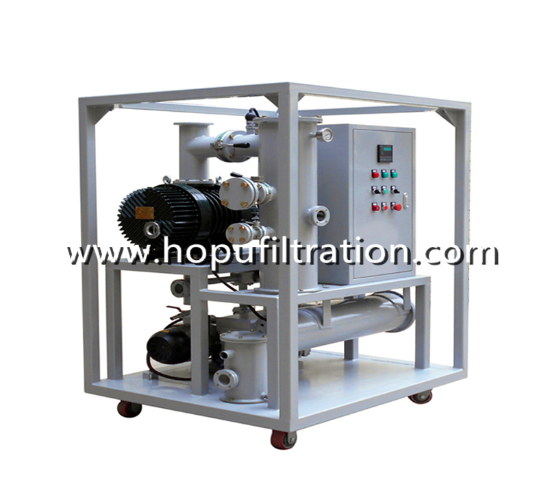 Transformer Vacuum Evacuating System, Double Stage Vacuum Pumps Group Set