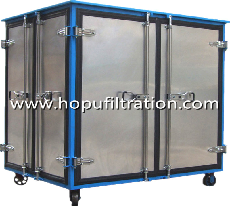 Fully Aluminum Alloy Closed Doors Transformer Oil Purifier machine