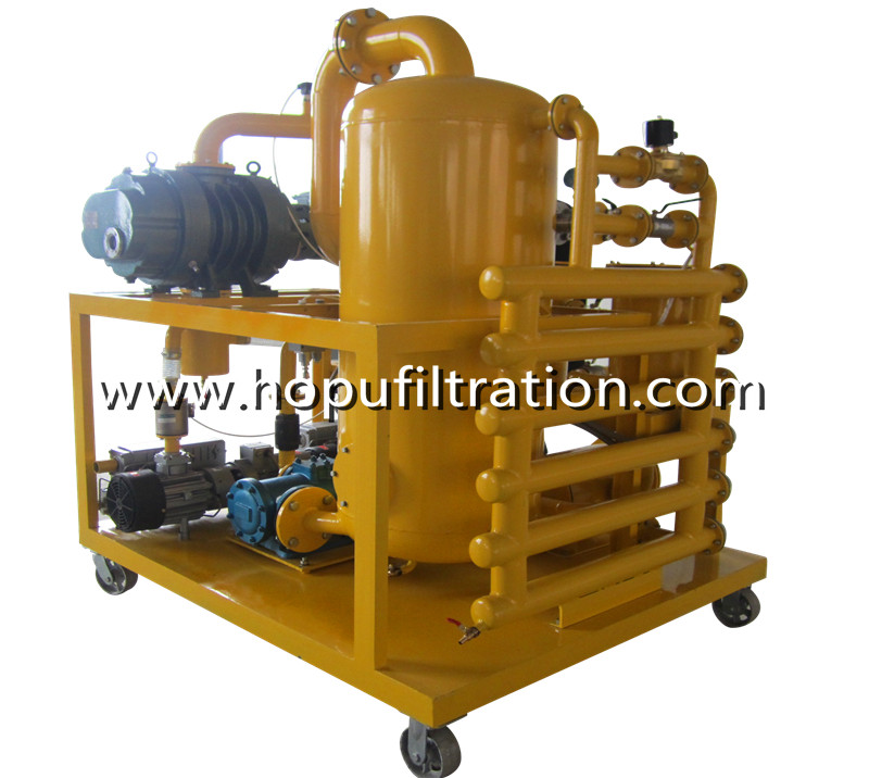 PLC Fully Automatic Transformer Oil Purification Machine