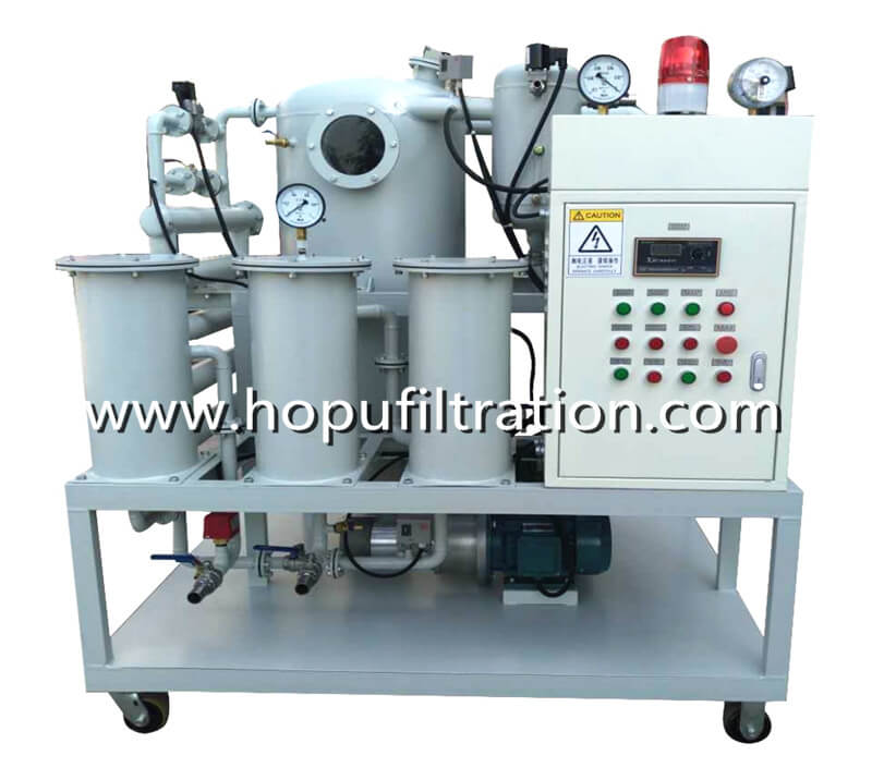 Vacuum Transformer Oil Filtration Plant,Dielectric Oil Processing Machine