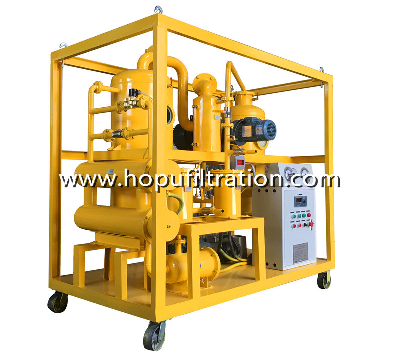 Vacuum Transformer Oil Regeneration System, insulator oil decoloring Recycling device