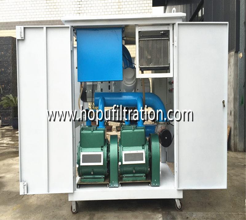 Vacuum Transformer Evacuation Set, Transformer Vacuum Pumping Drying Unit