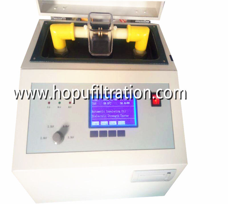 Transformer Oil Dielectric Strength Tester, Oil Test Meter
