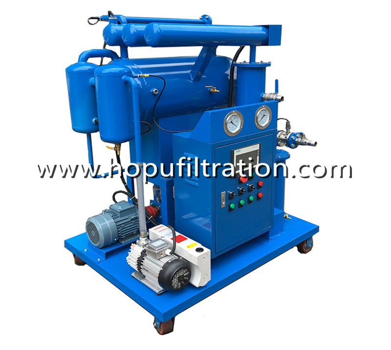 Single Stage Vacuum Transformer Oil Purifier, Insulator Oil Cleaning Plant
