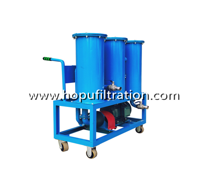 Portable Waste Oil Purifier,Oil Filtering and Flushing Machine for Series JL