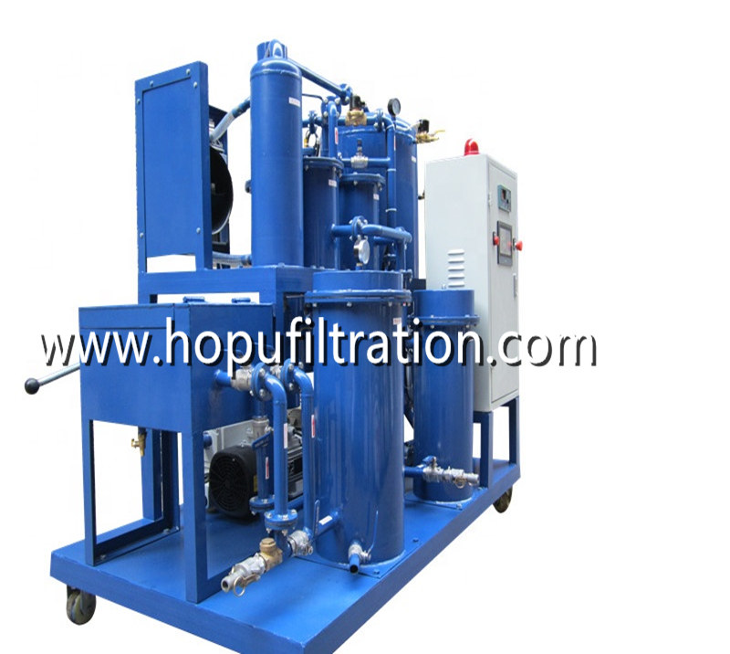 Cooking Oil Filtration Machine , Fried Oil Purification Unit with press filter