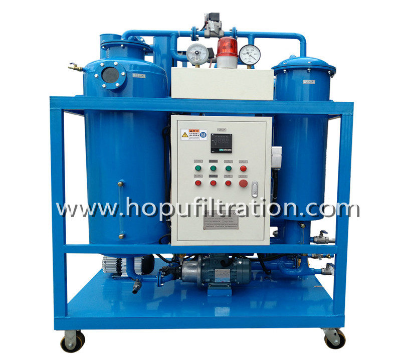 Vacuum Turbine Oil Filtration Plant, Oil Polishing and Flushing Machine