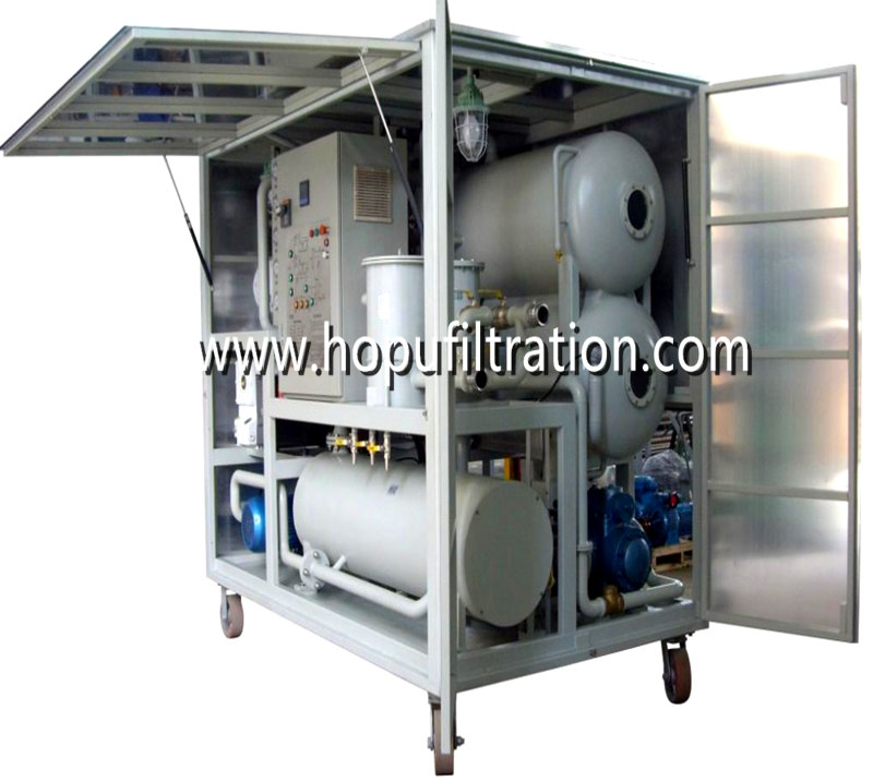 Super High Voltage Transformer Oil Purifier,decolorization,degassing,dehydration machine