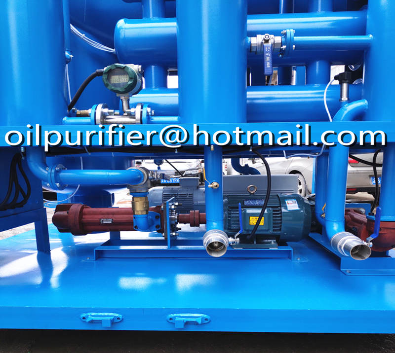 High Voltage Vacuum Transformer Oil Filtration Machine, Used Insulation Oil Treatment Plant