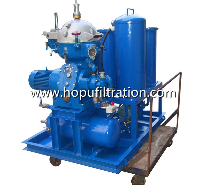 Centrifugal Oil Purifier Separator, Diesel fuel Oil Centrifuge Plant