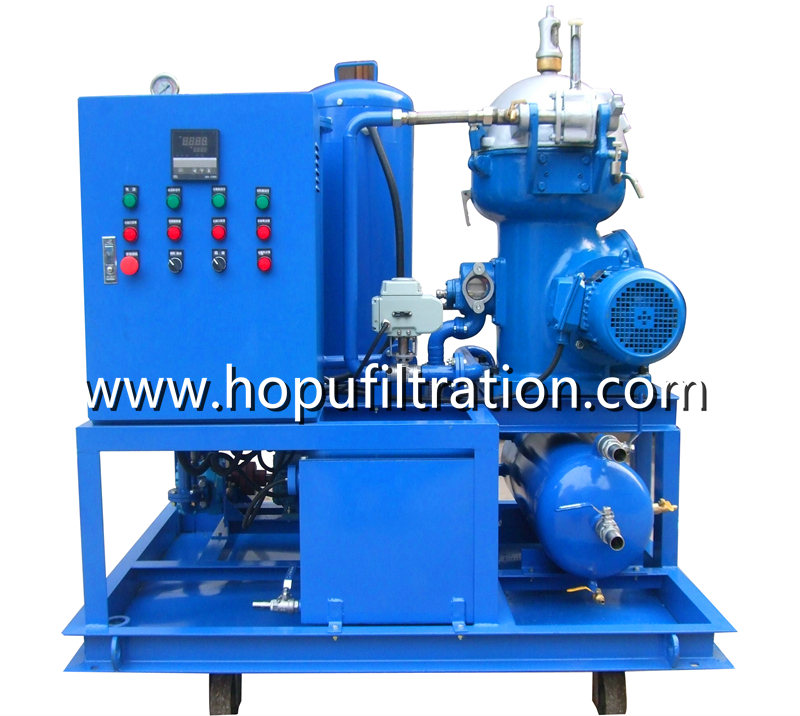 Centrifugal Oil Purifier Separator, Diesel fuel Oil Centrifuge Plant