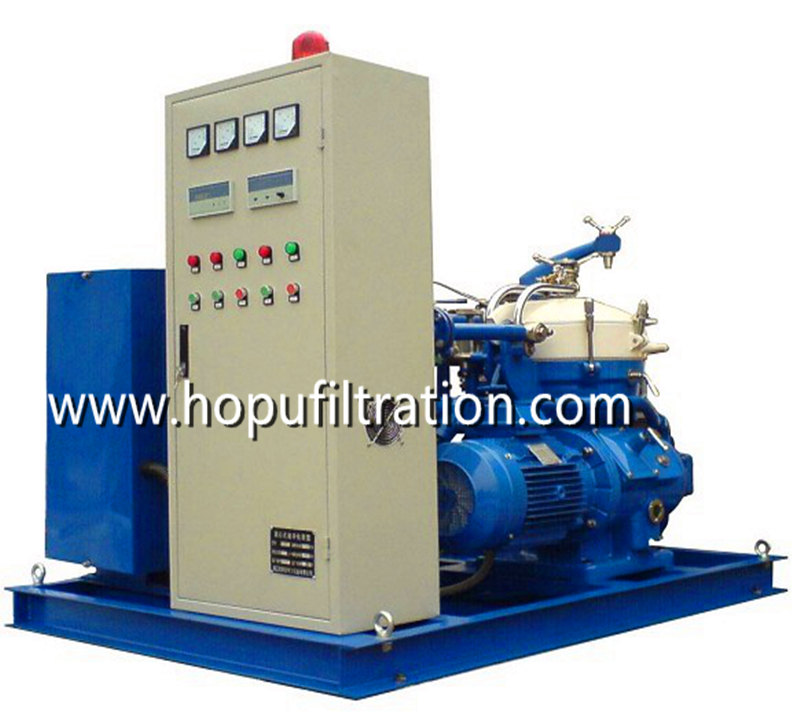Marine Centrifugal Oil Purifier, Heavy Fuel Oil Dehydration Plant