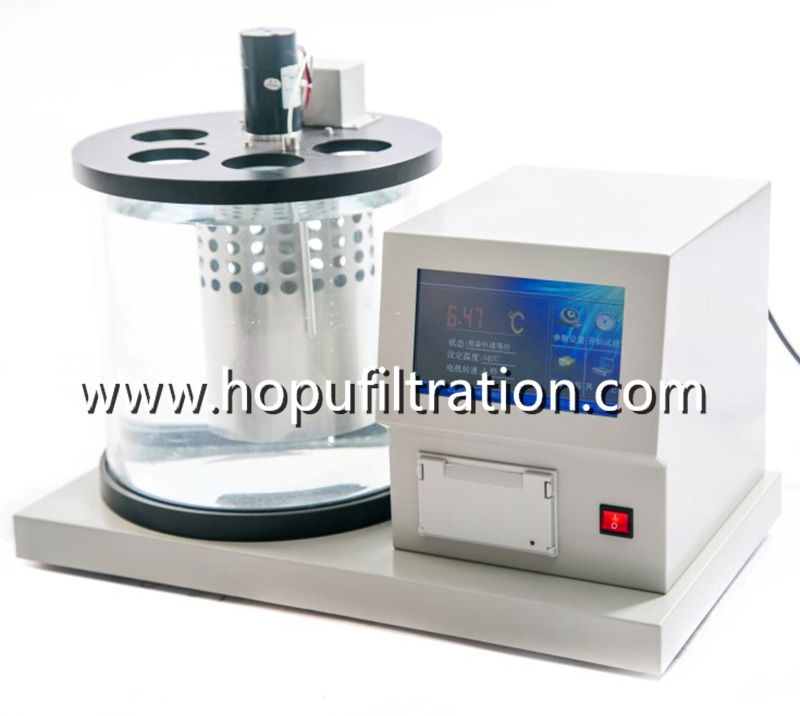 kinematic viscosity tester,  Petroleum Oil kinematic viscometer