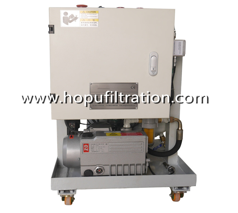 Mini Vacuum Oil Purifier, Portable Hydraulic Oil Filter Machine