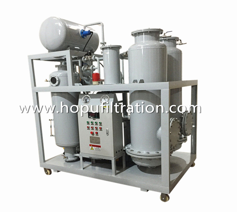 Brown Black Oil Decoloration Machine, Base Oil decoloring System