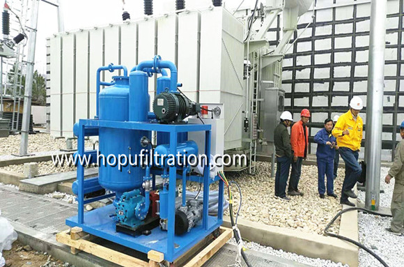 double stage vacuum transformer oil purification plant