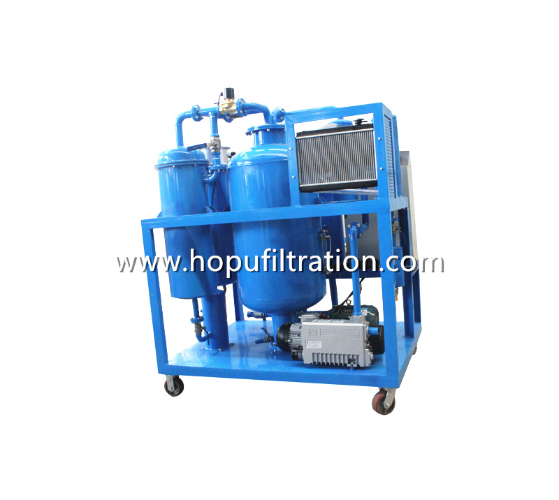 Lube Oil Vacuum Dehydrator, Quench Oil Cleaning Unit, Cutting Fluids Purification Plant