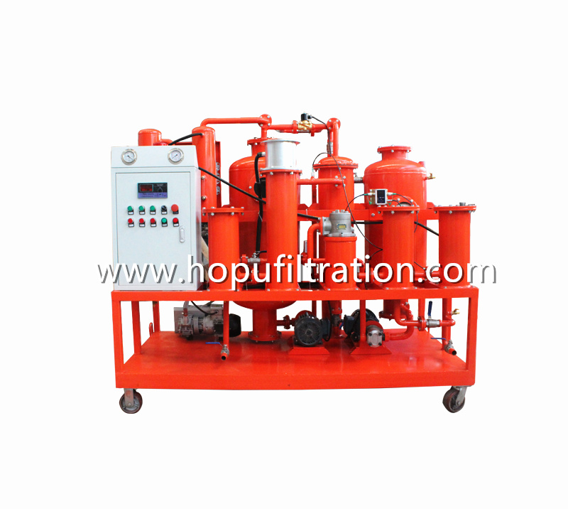 Used Hydraulic Oil Regeneration System, Lube Oil Filtration and Decolorization Machine