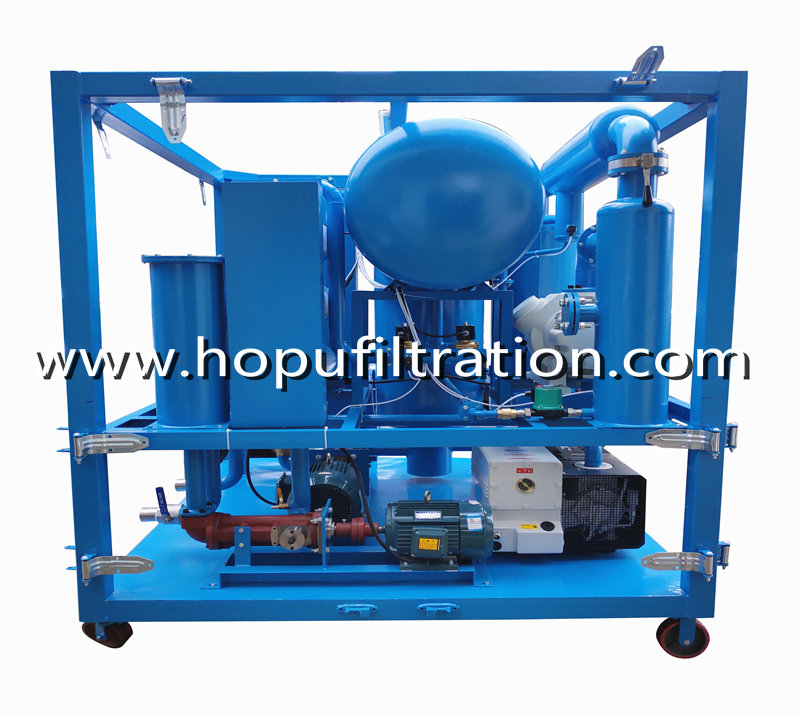 9000LPH Mineral Transformer Oil Purification Plant, Insulation Oil Cleaning and Filtering System