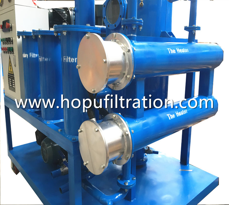 Double Stage Vacuum Transformer Oil Treatment Machine, Mineral Insualtion Oil Dehydration and Degasifier
