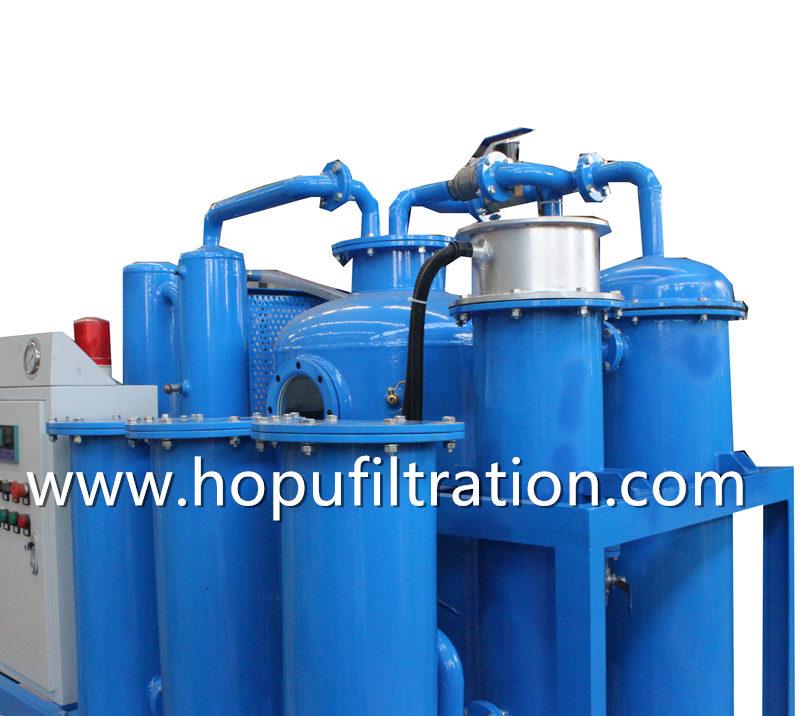 Gas Steam Turbine Oil Purification Unit, Lube Turbine Oil Vacuum Dehydrator
