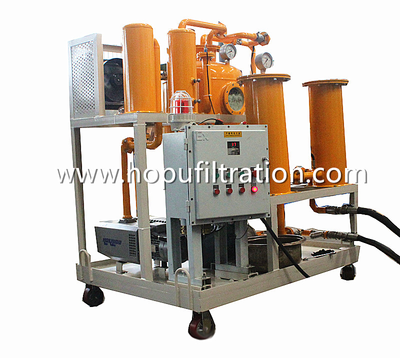 Explosion Proof Turbine Oil Cleaning Unit, Hydraulic Turbo Oil Regeneration Machine