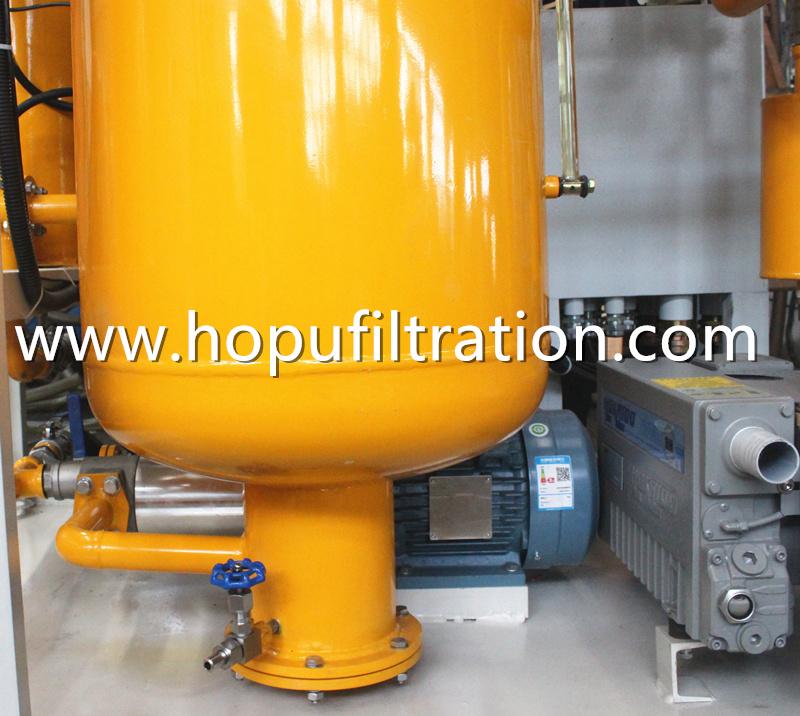 Explosion Proof Turbine Oil Cleaning Unit, Hydraulic Turbo Oil Regeneration Machine
