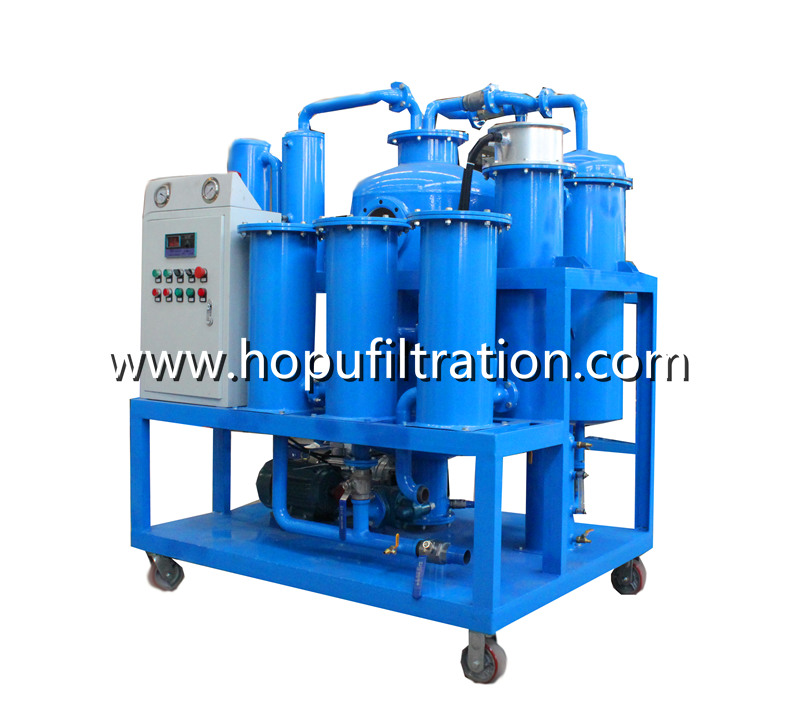 Gas Steam Turbine Oil Purification Unit, Lube Turbine Oil Vacuum Dehydrator