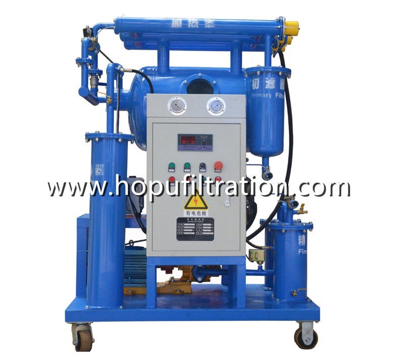 Vacuum Transformer Oil Dehydration Unit, Insulation Oil Degassing Machine