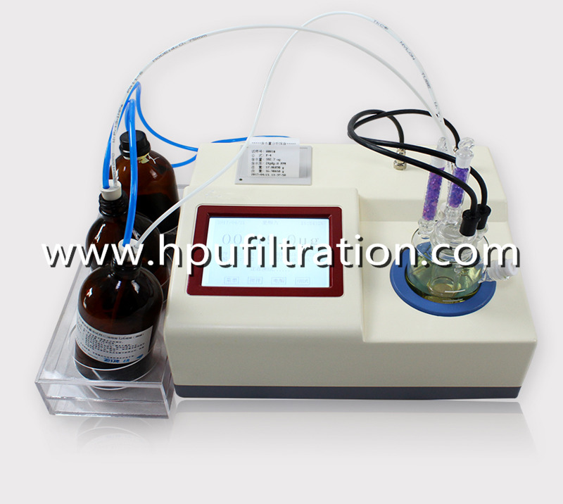 Oil Water Tester, Karl Fischer Coulometric Oil Testing Equipment