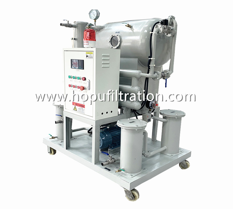 Portable Vacuum Transformer Oil Purification and Filtration Unit