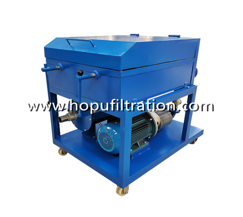 Double Plate Frame Oil Purifier and Press Oil Filtration Machine