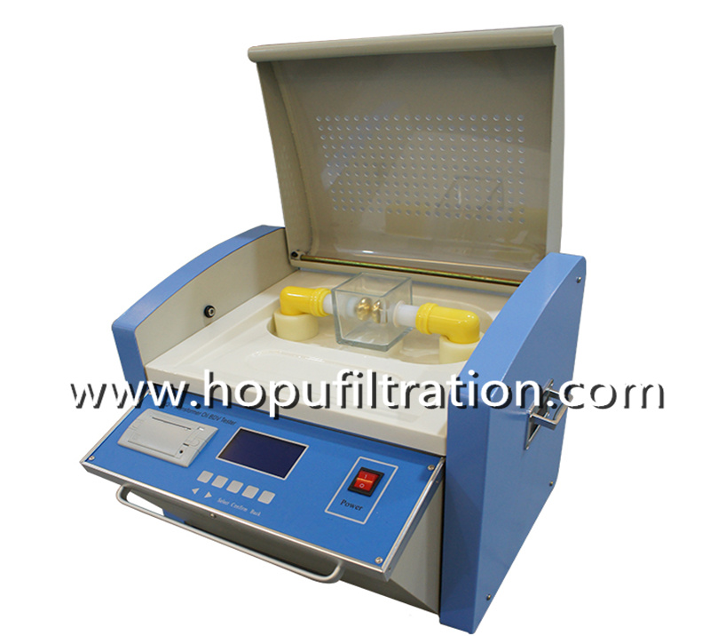 Transformer Oil Dielectric Strength Tester, Oil Breadown Voltage Meter