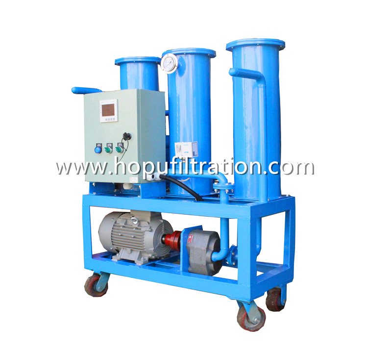 Portable Diesel Fuel Oil Purifier, Industrial Oil Filtration Equipment,Used Oil Cleaning Device for particles