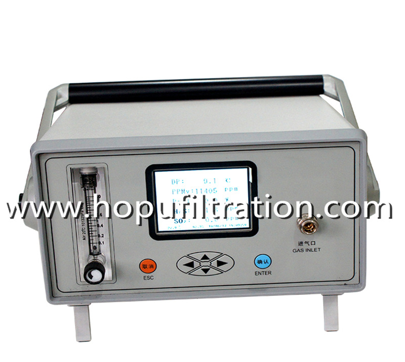 SF6 Gas Analyzer for Dew Point, Purity, Decomposition Integrated Tester