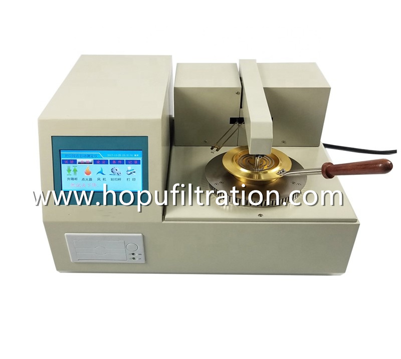 Automatic Open Cup Flash and Fire Point Tester