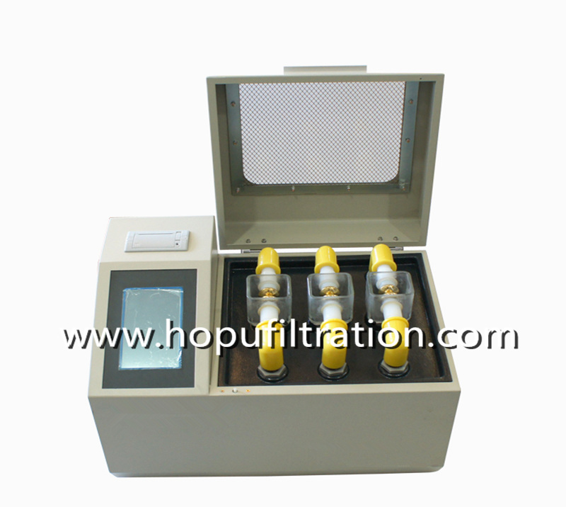 3 Cups Insulating oil breakdown voltage tester