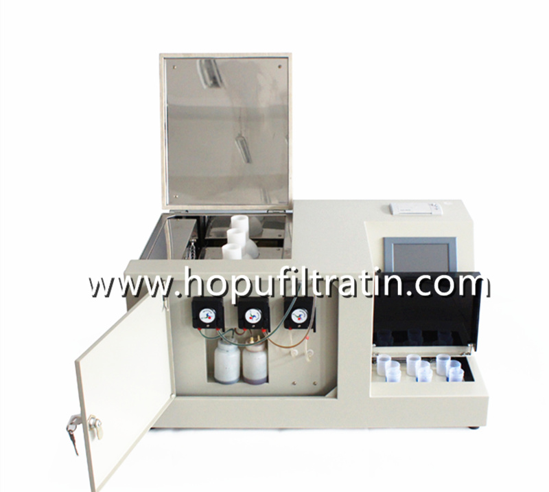 Oil Water soluble acid tester and pH analyzer