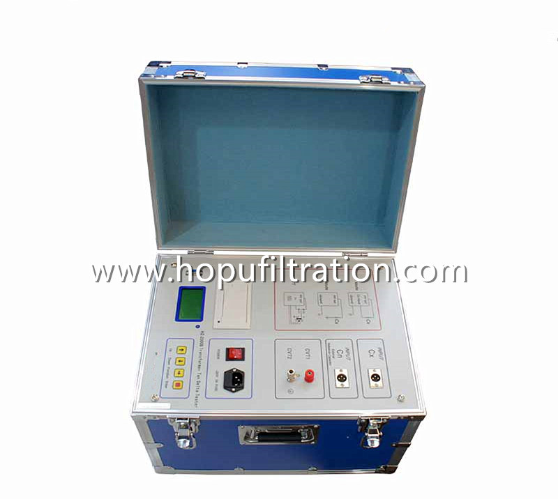 Transformer Capacitance Tangent Delta Tester,Dissipation Loss Factor Analyzer