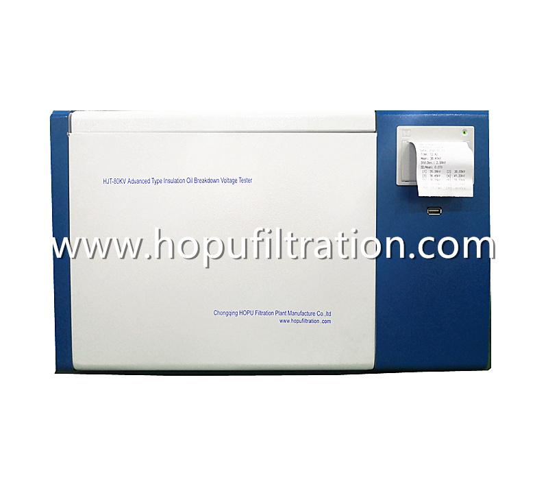 ASTM D877 Insulation Oil BDV Tester, Dielectric Strength Meter with BS EN60156