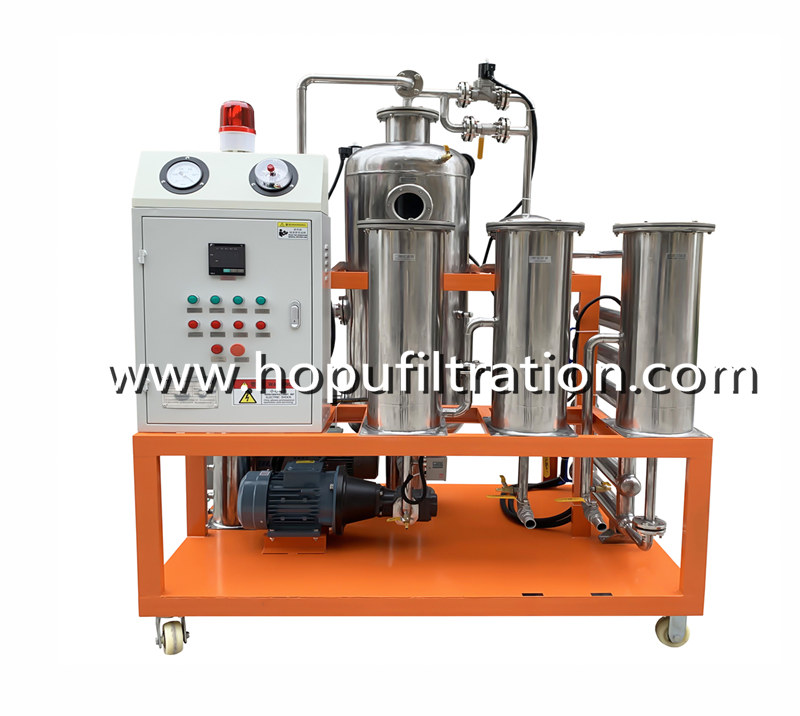 Stainless Steel Vacuum Cooking Oil Purifier
