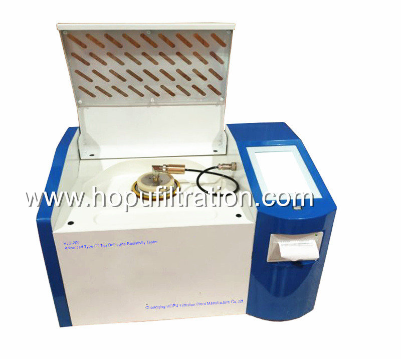 Insulating oil Tangent Delta and resistivity tester,Oil Power Factor Meter